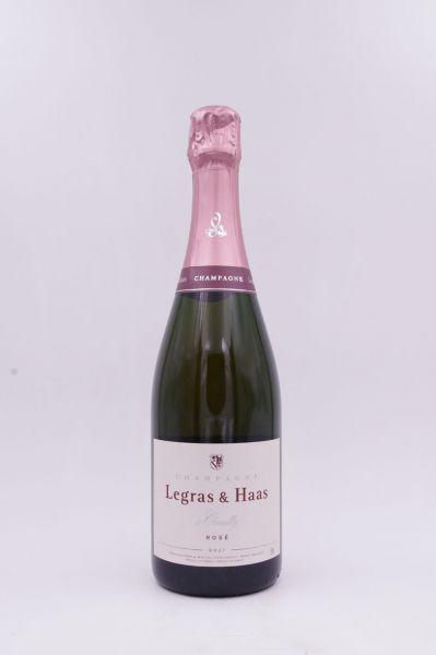 Champagne Legras & Haas Rosé brut