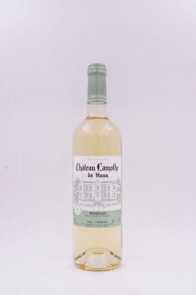 2018 Château Lamothe blanc sec