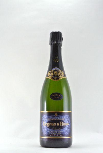2008 Champagne Legras & Haas L.T.S. Blanc de Blancs extra brut